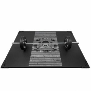 ATX Weight Lifting Platform Barbell Club Wood Grey