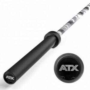 ATX® Camouflage Multi Power Bar Olympia Hantelstange – 20 kg