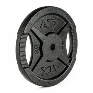 ATX® 2-Grip - 30 mm - Hantelscheiben Guss - 0,5 bis 25 kg
