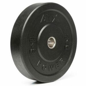 ATX® Rough Rubber Bumper Plate 5 – 25 kg