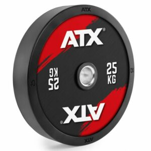 ATX® FULL RUBBER BUMPER PLATE - COLOR DESIGN - 5 BIS 25 KG