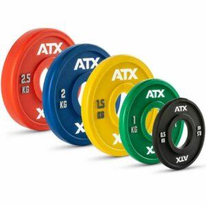 ATX® PU Fractional Plates / Change Plates 0,5 bis 2,5 kg