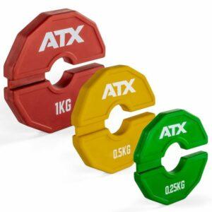 ATX® Add-On Flex Plate / flexible Zusatzgewichte – in 3 Gewichtsgrößen – paarweise
