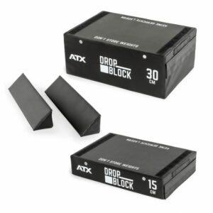 ATX® Soft Drop Block Set-Komponenten