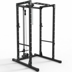 ATX® Power Rack 620 Komplettstation mit Plate Load Latzugstation Höhe 218 cm