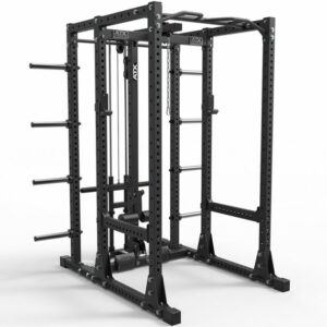 ATX® Power Rack 750 Storage Set-250 - mit Latzugstation Plate Load