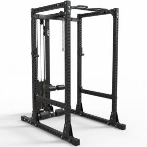 ATX® Power Rack PRX-770 SE-470 XL Cage mit Latzugstation 125 kg Steckgewichte