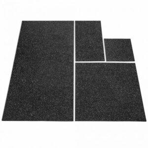 Bodenschutzplatten 10 mm, mit grauer Farbeinstreuung - verschiedene Größen