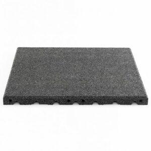 GYMFLOOR® – GRANULAT SCHUTZPLATTEN 500 X 500 X 30 MM