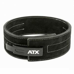 ATX® Power Belt Clip - Veloursleder - schwarz - Größe S - XXL