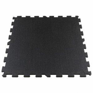 Gymfloor® Puzzleplatte 956 x 956 x 10 mm - schwarz