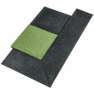 Gymfloor® – Rubber Tile System – Aufgehelemente Rand und Ecken – 20 mm Stärke