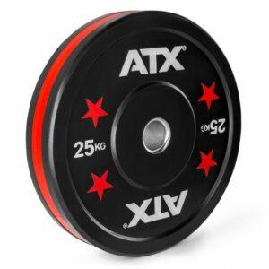 ATX® Color Stripes Bumper Plate – 5 kg bis 25 kg