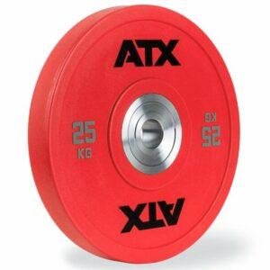 ATX® URETHAN BUMPER PLATES – AUSWAHL 5 – 25 KG