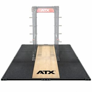 ATX® Weight Lifting / Power Rack Platform XL 3 x 3 m mit ATX® Schriftzug