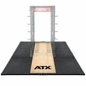 ATX® Weight Lifting / Power Rack Platform XL 3 x 3 m mit ATX® Schriftzug