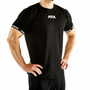 ATX® TRAINING T-SHIRTS, GRÖSSEN S BIS XL, FARBE SCHWARZ