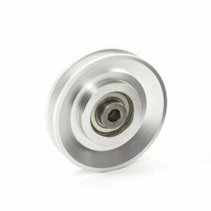 SEILROLLE / UMLENKROLLE - Aluminium Ø 90 mm